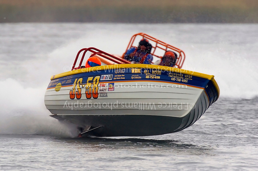 """JS-58 """"Bound For Glory""""  (Jersey Speed Skiff(s)"""