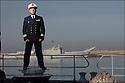 Capitaine de frégate Didier Nyffenegger.  <br /> Commandant adjoint navire.<br /> LE CHEF MACH'