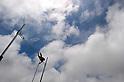 The ambiance shot ,JULY 8, 2011 - Athletics :The 19th Asian Athletics Championships Hyogo/Kobe, Men's Pole Vault Final at Kobe Sports Park Stadium, Hyogo ,Japan. (Photo by Jun Tsukida/AFLO SPORT) [0003]