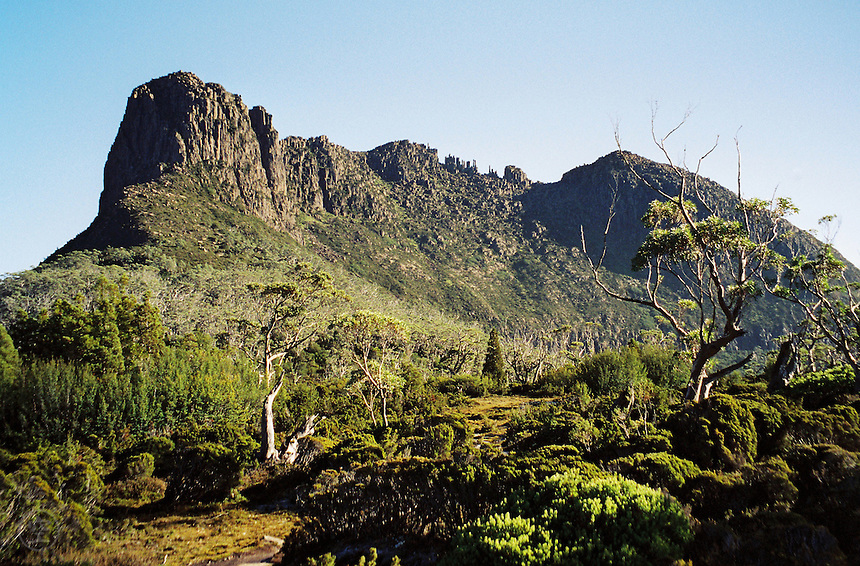 Views from the Overland Track, Cradle Mountain Lake St Clair National Park, Tasmania, Australia, 2003