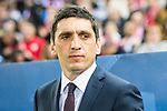 Head coach Tayfun Korkut of Bayer 04 Leverkusen prior to the 2016-17 UEFA Champions League Round of 16 second leg match between Atletico de Madrid and Bayer 04 Leverkusen at the Estadio Vicente Calderon on 15 March 2017 in Madrid, Spain. Photo by Diego Gonzalez Souto / Power Sport Images