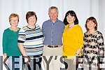 Ann Ryan, Doreen McGrath, Michael Dee, Margaret Campbell and Breda Kirwin Killorglin at the set dancing at the Gathering festival in the Gleneagle Hotel on Sunday