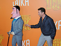 "07 April 2019 - New York, New York - Hugh Jackman at the New York Premiere of ""MISSING LINK"", held at Regal Cinemas Battery Park II.<br /> CAP/ADM/LJ<br /> ©LJ/ADM/Capital Pictures"