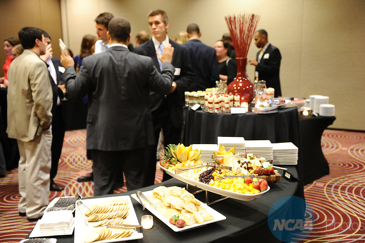 11 JAN 2012: The Postgraduate Internship Reunion at the 2012 NCAA Convention held at the JW Marriott and Indianapolis Convention Center in Indianapolis, IN.  Stephen Nowland/NCAA Photos
