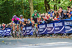 Lampre-Merida and Team Europcar riders, Vattenfall Cyclassics, Waseberg, Hamburg, Germany, 24 August 2014, Photo by Thomas van Bracht