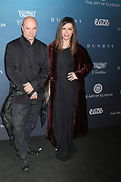 LOS ANGELES - JAN 5:  Russell Young, Finola Hughes at the Art of Elysium 12th Annual HEAVEN Celebration at a Private Location on January 5, 2019 in Los Angeles, CA