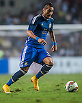Roberto Pereyra of Argentina in action during the HKFA Centennial Celebration Match between Hong Kong vs Argentina at the Hong Kong Stadium on 14th October 2014 in Hong Kong, China. Photo by Aitor Alcalde / Power Sport Images
