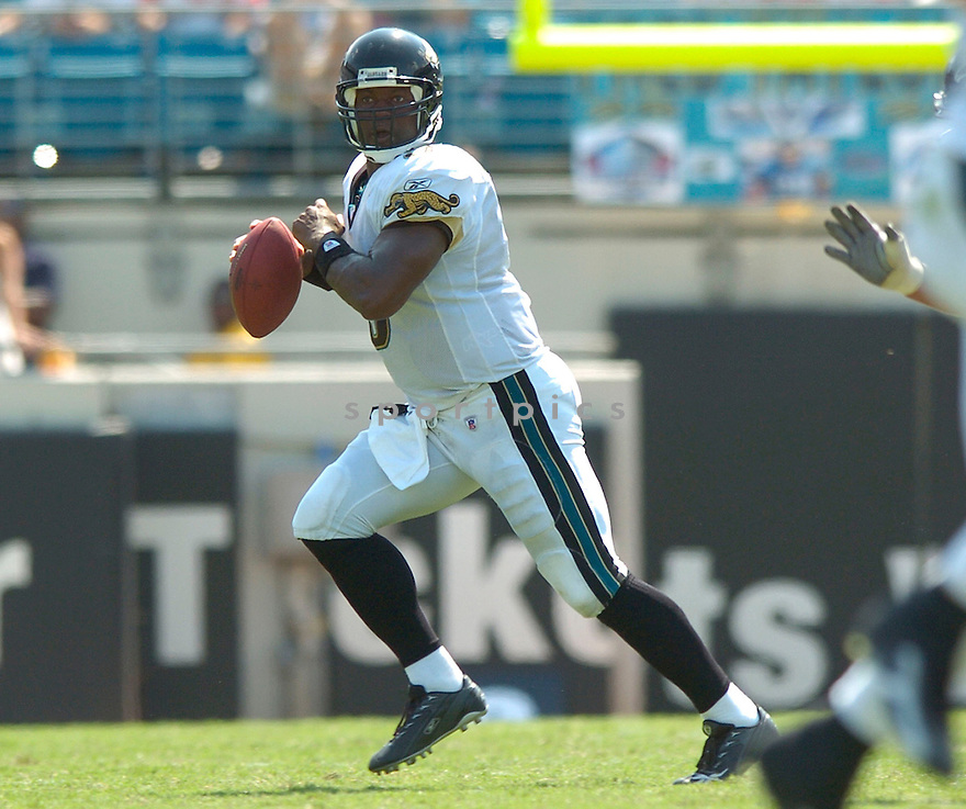 DAVID GERRARD, of the Jacksonville Jaguars, in action during the Jaguars game against the Atlanta Falcons  in Jacksonville, FL on September 16, 2007.  The Jaguars won the game 13-7............