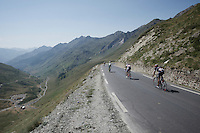 down the Col du Tourmalet (HC/2115m/17km/7.3%)<br /> <br /> st11: Pau - Cauterets (188km)<br /> 2015 Tour de France