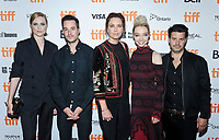 10 September 2017 - Toronto, Ontario Canada - Evan Rachel Wood, Jason Sanchez, Maxim Roy, Julia Sarah Stone, Carlos Sanchez. 2017 Toronto International Film Festival - &quot;A Worthy Companion&quot; Premiere held at Scotiabank Theatre. <br /> CAP/ADM/BPC<br /> &copy;BPC/ADM/Capital Pictures