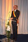 &copy;www.agencepeps.be/ F.Andrieu- A.Rolland / Imagebuzz.be  - Belgique -Bruxelles - 130910 - Roi Philippe et la Reine Mathilde joyeuse entr&eacute;e en Brabant Wallon &agrave; Wavre <br /> Charles Michel bourgemestre de Wavre