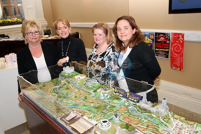 Pauline O'Callaghan, Geraldine O'Neill, Vanessa Harte-Shrestha and Jill White In the Tourist Office...Picture Jenny Matthews/Newsfile.ie