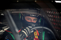 Sept. 20, 2008; Dover, DE, USA; Nascar Sprint Cup Series driver Travis Kvapil during practice for the Camping World RV 400 at Dover International Speedway. Mandatory Credit: Mark J. Rebilas-