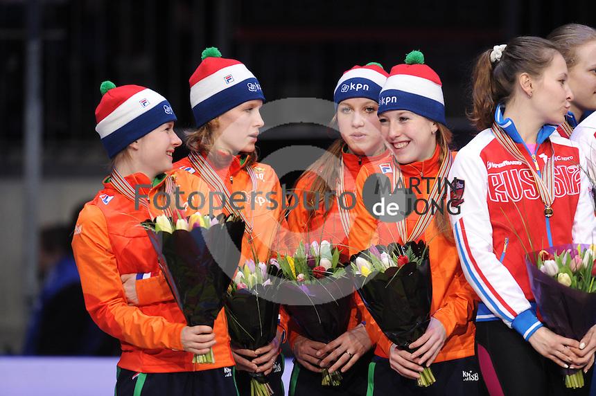 SHORTTRACK: DORDRECHT: Sportboulevard Dordrecht, 25-01-2015, ISU EK Shorttrack, ©foto Martin de Jong