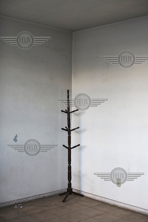 A coat stand in the former Department of Information Operations (Centre for Internal Defence Operations) on Rua Tutoia in the Paraiso neighbourhood. During the years of military rule (1 April, 1964 to 15 March, 1985) this was the Brazilian intelligence and repression agency where citizens were taken in for questioning, an act that often resulted in torture. It is currently the 36th Civil Police Precinct.