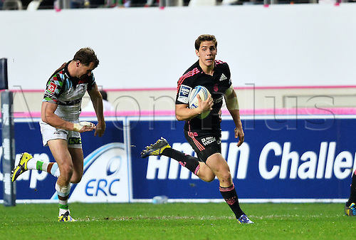 04.04.2014. Paris, France. Amlin Challenge Cup Rugby. Stade Francais versus Harlequins.  Clement Daguin (sf)