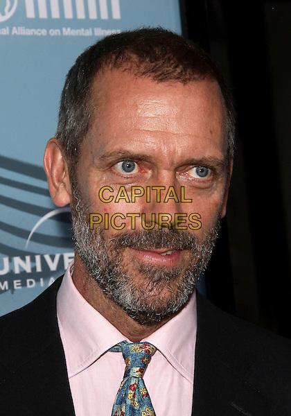 "HUGH LAURIE . ""HOUSE "" Season Six Premiere held  at  The Arclight  Cinerama Dome, Hollywood, California, USA..September 17th, 2009.headshot portrait beard facial hair pink black .CAP/ADM/TC.©T. Conrad/AdMedia/Capital Pictures."
