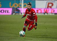 Brandon Borello (1. FC Kaiserslautern) - 21.02.2018: SV Darmstadt 98 vs. 1. FC Kaiserslautern, Stadion am Boellenfalltor, 2. Bundesliga