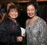 Iris Rainer Dart and Lynn Ahrens attends the reception for Dramatists Guild Fund Fellows Presentation 2015-2016 at Playwrights Horizons on September 19, 2016 in New York City.