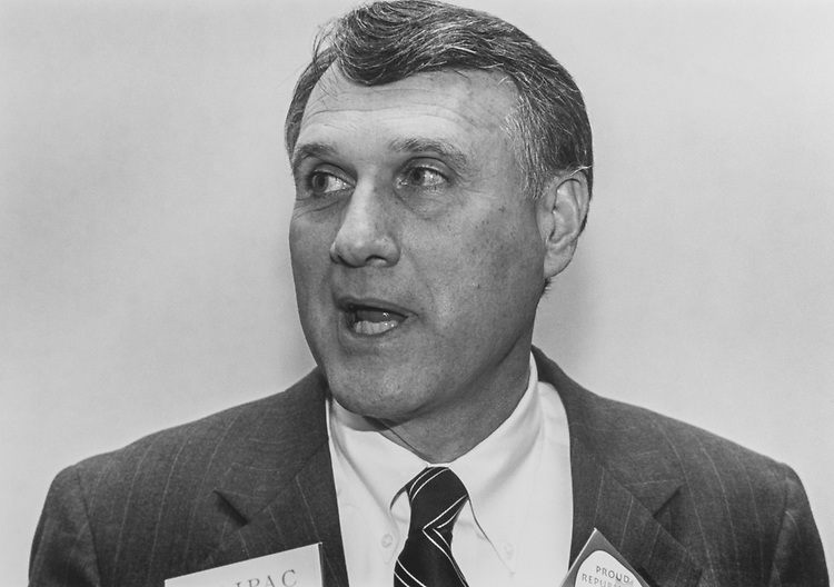 Rep. Jon Kyl, R-Ariz., for Senate, in March 1994. (Photo by Laura Patterson/CQ Roll Call via Getty Images)