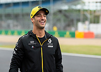 Daniel RICCIARDO (AUS) (RENAULT F1 TEAM) during the Formula 1 Rolex British Grand Prix 2019 at Silverstone Circuit, Towcester, England on 14 July 2019. Photo by Vince  Mignott.