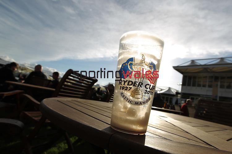 Ryder Cup 2010.Jonathan Jones and Ian Woosnam.29.09.10.©Steve Pope.