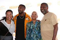 LOS ANGELES - JUL 27:  Donna jordan, Michael B. Jordan, Donna Jordan, Michael A. Jordan at the 3rd Annual MBJAM19 at the Dave & Busters on July 27, 2019 in Los Angeles, CA