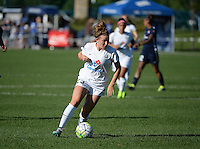 Kansas City, MO - Sunday September 04, 2016: Caroline Kastor during a regular season National Women's Soccer League (NWSL) match between FC Kansas City and the Sky Blue FC at Swope Soccer Village.