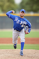 Kelvin Herrera - Kansas City Royals - 2010 Instructional League.Photo by:  Bill Mitchell/Four Seam Images..
