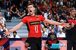 14.09.2019, Paleis 12, BrŸssel / Bruessel<br />Volleyball, Europameisterschaft, Deutschland (GER) vs. Belgien (BEL)<br /><br />Lukas Kampa (#11 GER)<br /><br />  Foto © nordphoto / Kurth