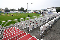 General view of the ground ahead of Essex CCC vs Yorkshire CCC, Specsavers County Championship Division 1 Cricket at The Cloudfm County Ground on 26th September 2017