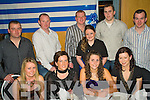 Ardfert Social - Enjoying a wonderful night at the Annual Ardfert GAA Buffet Diner in The Ballyroe Heights Hotel on Saturday night were seated l/r Clodagh Fitzgerald, Bernie O'Loughlan, Rachel Reide and Anne O'Sullivan, standing l/r Colm Lawlor, Johnny Stack, Paul Sheehan, Joanne Lawlor, Eamon Corridan and Brian O'Loughlan............................................................................................................................... ............