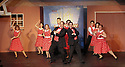 """CSTOCK is presenting the musical  """"White Christmas"""" Dec 2-18 at their Silverdale theater. This production  adaptation features seventeen Irving Berlin songs. ActorsF James Raasch and Eric RIchardson lead an ensemble dance number during rehearsal Monday. Brad Camp 