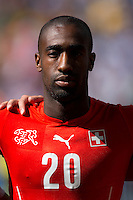 Johan Djourou of Switzerland