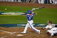 21 March 2009: #5 Shin Soo Coo of Korea hits the ball during the 2009 World Baseball Classic semifinal game at Dodger Stadium in Los Angeles, California, USA. Korea wins 10-2 over Venezuela.