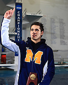 The University of Michigan men's National swimming and diving team won their 12th NCAA Championship after three days of competition at IU Natatorium Indianapolis, Ind., on March 30, 2013.