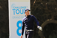 Mathieu Fenasse (FRA) on the 8th tee during Round 2 of the Challenge Tour Grand Final 2019 at Club de Golf Alcanada, Port d'Alcúdia, Mallorca, Spain on Friday 8th November 2019.<br /> Picture:  Thos Caffrey / Golffile<br /> <br /> All photo usage must carry mandatory copyright credit (© Golffile | Thos Caffrey)