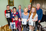 The family of James Macklin Tarbert who launched the Fundraiser for him at The Nora and Ollie Conyard Home Tarbet on Wednesday launching was James Grandmother Nora O'Mahony with her Family, Linda Mulvihill,Lily O'Mahony,Mag Shanley,Nora and Ollie Conyard,kayley Mulvihill and Kevin O'Connell