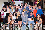 Dearbhail O'Connor Keel who celebrated her 18th birthday with her family and friends in Griffins bar Castlemaine on saturday night