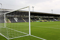 General view of the Main Stand at Forest Green Rovers FC during Forest Green Rovers vs MK Dons, Caraboa Cup Football at The New Lawn on 8th August 2017