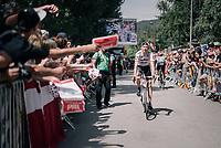 Bauke Mollema (NED/Trek-Segafredo) at the stage start<br /> <br /> 104th Tour de France 2017<br /> Stage 19 - Embrun &rsaquo; Salon-de-Provence (220km)