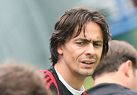 Filippo Inzaghi of AC Milan during a practice session at RFK practice facility in Washington DC on May 24 2010.
