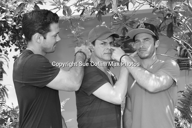 Ryan Paevey - C LeBlanc - Ryan Carnes - A Painting Party where actors and children and adults do paintings to be auctioned off at the Night of Stars and on the Marco Island Princess- Actors from Y&R, General Hospital and Days donated their time to Southwest Florida 16th Annual SOAPFEST - a celebrity weekend May 22 thru May 25, 2015 benefitting the Arts for Kids and children with special needs and ITC - Island Theatre Co. on May 23 , 2015 on Marco Island, Florida. (Photos by Sue Coflin/Max Photos)