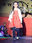 Erin Mullen who took part in the fashion show in Mattock Rangers clubrooms Collon. Photo:Colin Bell/pressphotos.ie