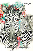 Marie, REALISTIC ANIMALS, REALISTISCHE TIERE, ANIMALES REALISTICOS, paintings+++++,USJO83,#A# ,Joan Marie, zebra