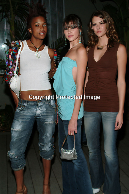 L.A. Models Char Michelle, Kira, Veronica Taylor<br />