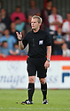 Referee Gavin Ward<br />  Stevenage v Ipswich Town - Capital One Cup First Round - Lamex Stadium, Stevenage - 6th August, 2013<br />  © Kevin Coleman 2013