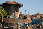 Waterworld special effects show at Universal Studios Hollywood, Los Angeles, CA, USA