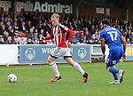 Sheffield United's Matt Duffy in action during the League One match at the Kingsmeadow Stadium, London. Picture date: September 10th, 2016. Pic David Klein/Sportimage