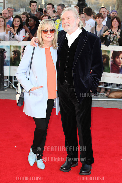 Twiggy and Leigh Lawson attends the World Premiere of 'Far From The Madding Crowd' at BFI Southbank, London. 15/04/2015 Picture by: Alexandra Glen / Featureflash